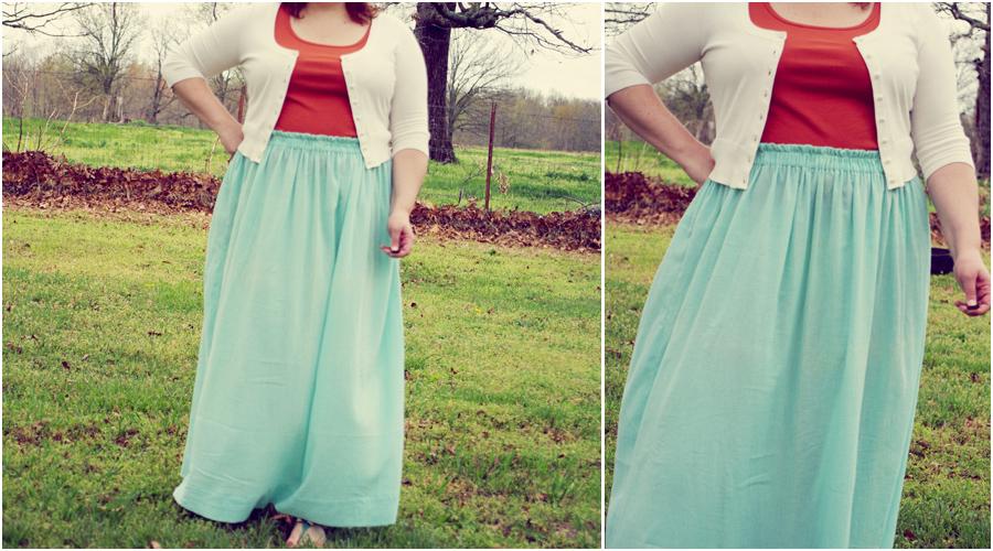 Quality Time: Spring Maxi Skirt