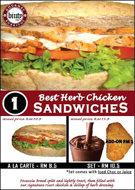 SET 1-Best Herb Chicken Sandwich