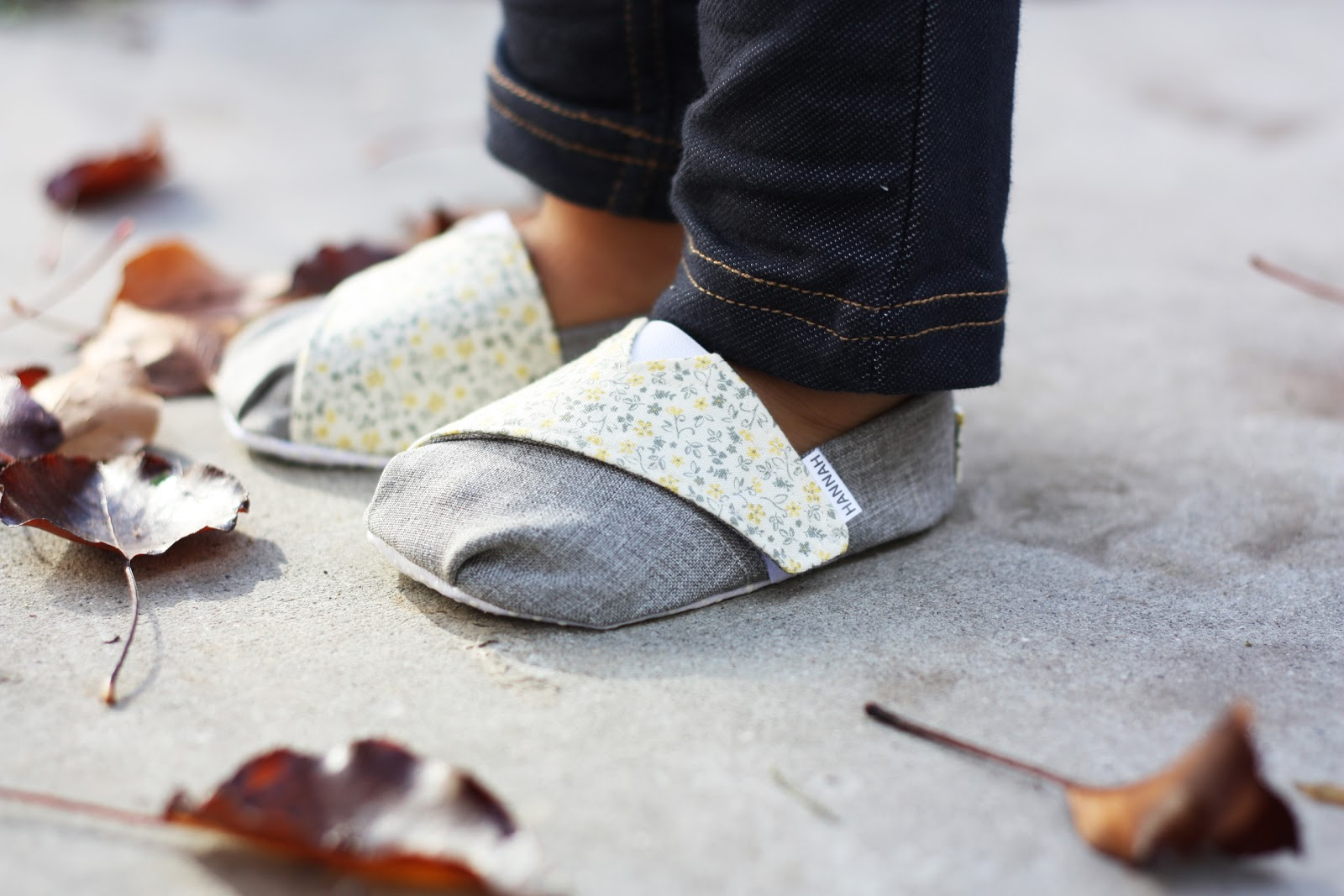 TOMS Inspired Baby Shoes Sugar Bee Crafts