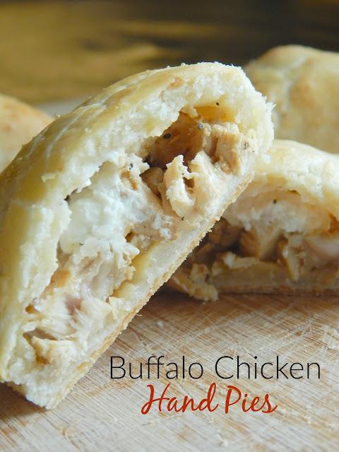 buffalo chicken hand pies (sweetandsavoryfood.com)
