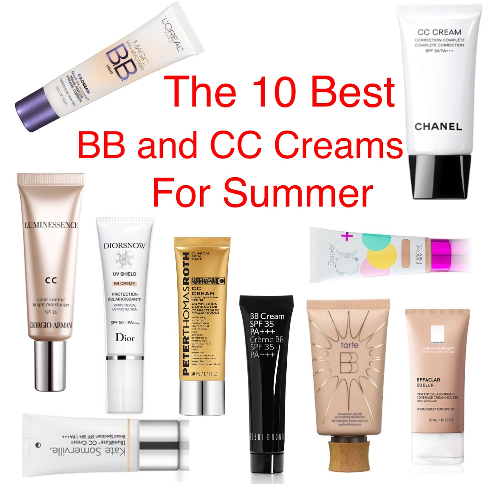 how to use bb cream and cc cream