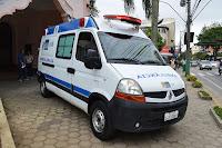 Estado cede ambulância UTI para UPA Teresópolis