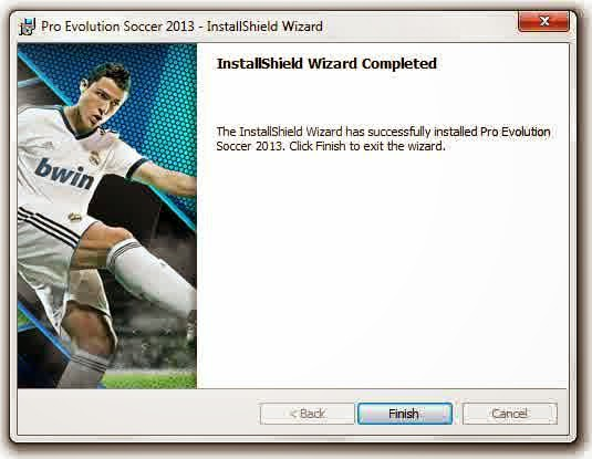 proses install pes 2013