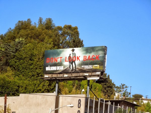 Walking Dead Dont Look Back billboard