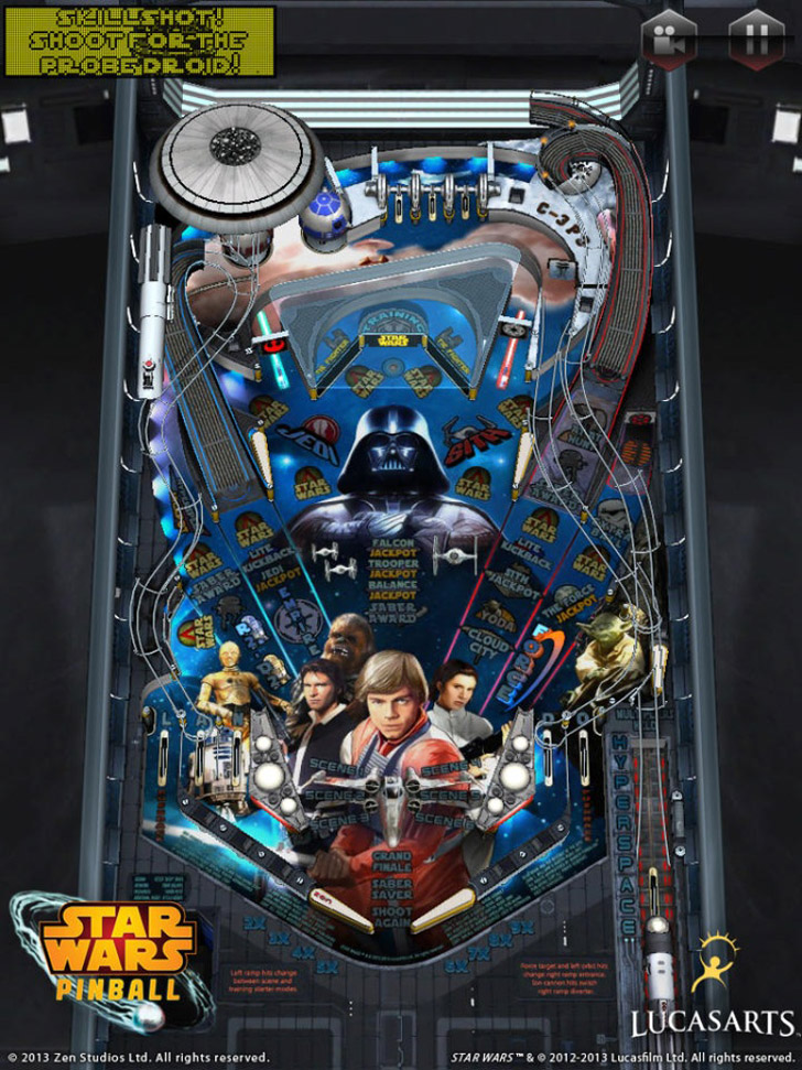 Star Wars Pinball App iTunes App By ZEN Studios Ltd. - FreeApps.ws