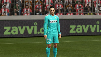 PES 2013 Atletico Nacional Third kit 2015-16 by Vulcanzero