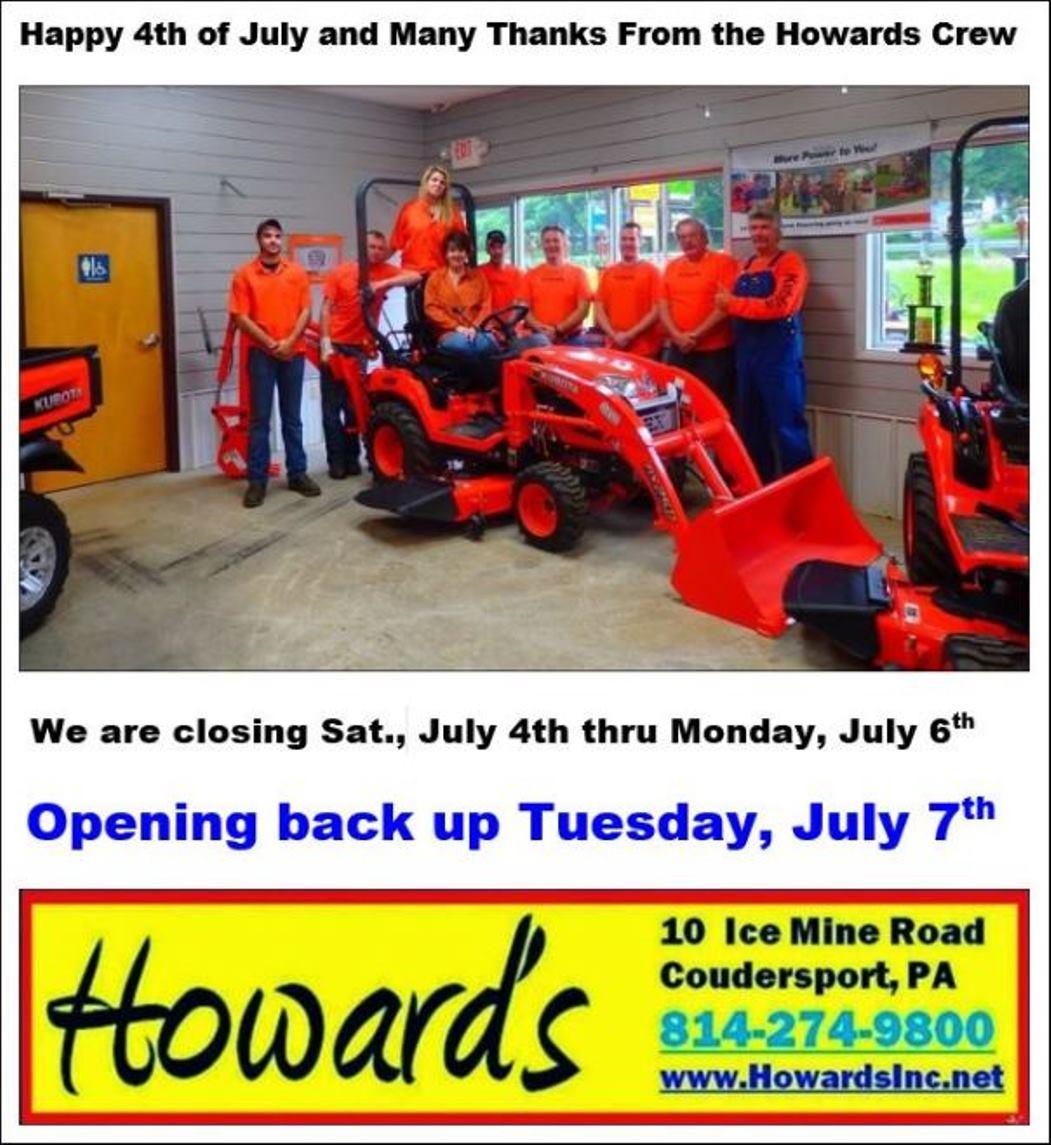 Howards Inc.