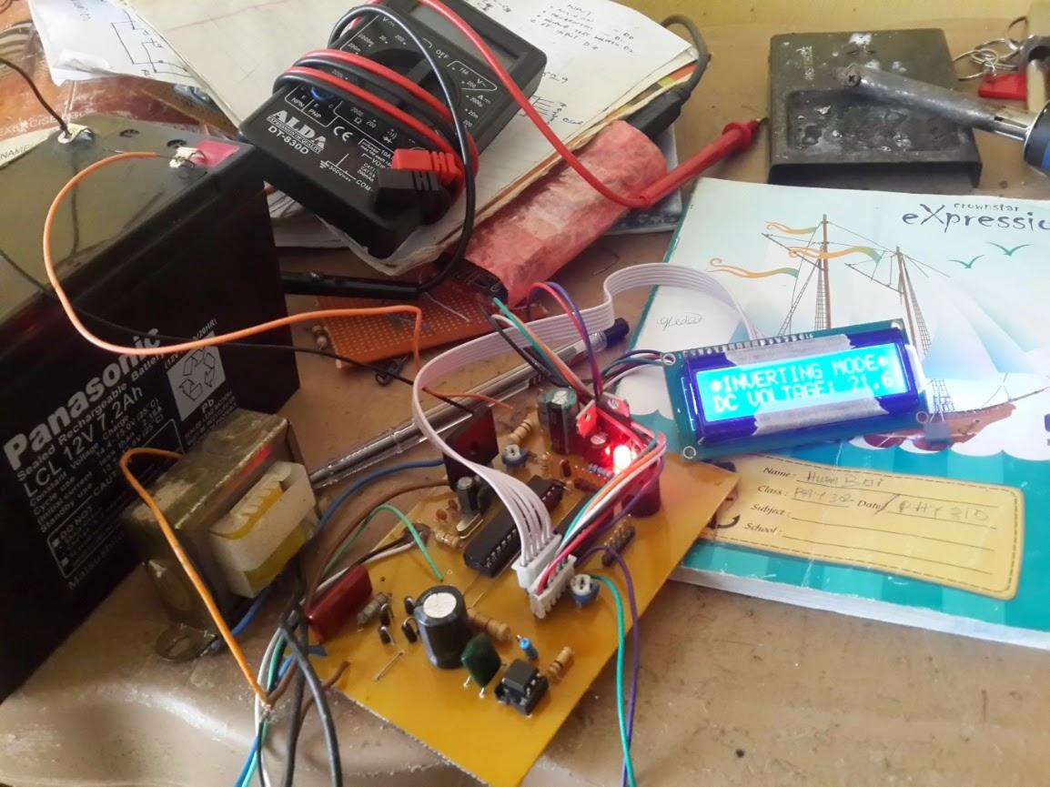 Mcu Based Inverter Control With A V R Using Pic16f876a 570 571 Compandor Ic Compressor Circuit Old Design 1