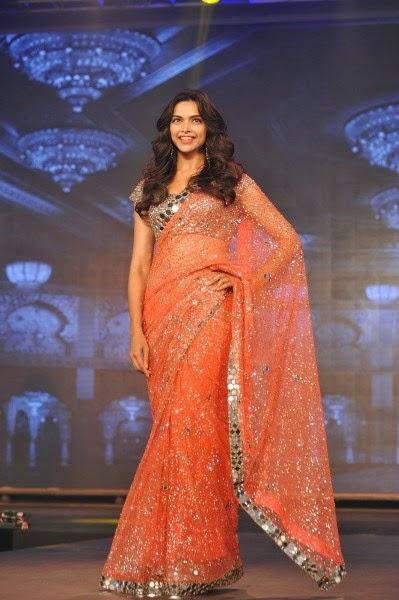 Deepika Padukone in saree