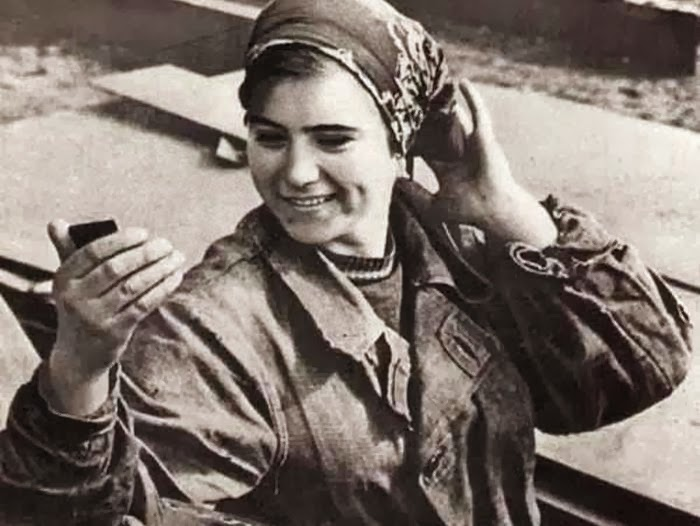 Mujer en la URSS