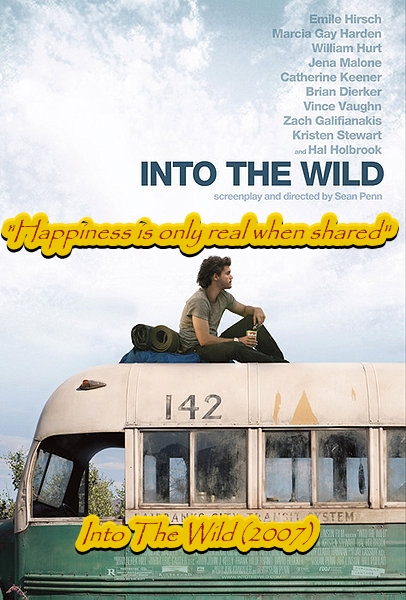 best movie quotes, into the wild