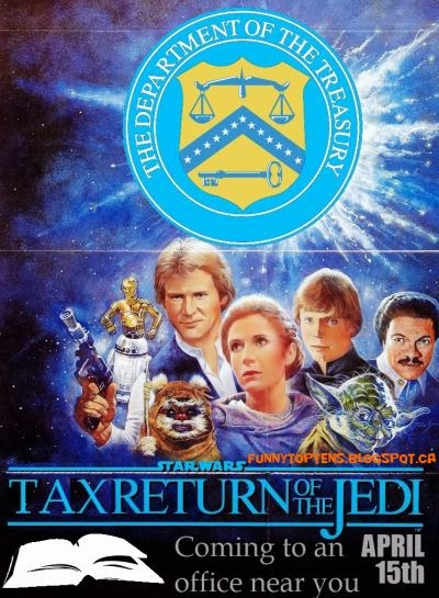 Tax Return of the Jedi Star Wars Parody