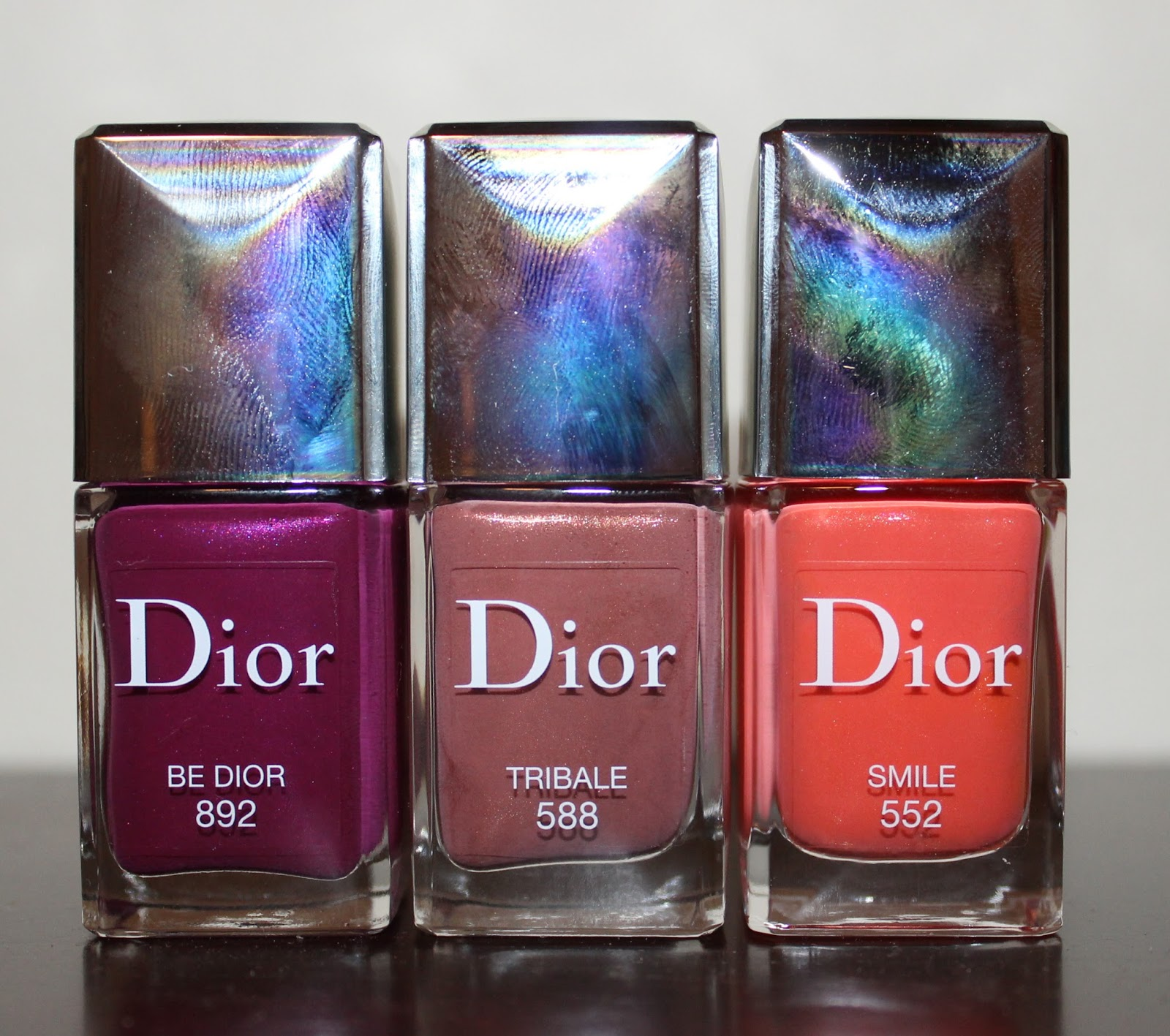 Beyond Blush: Dior Vernis in 552 Smile, 588 Tribale & 892 Be Dior