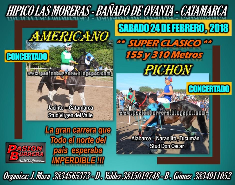 BAÑADO DE OVANTA - 24 FEB. - 155 y 310