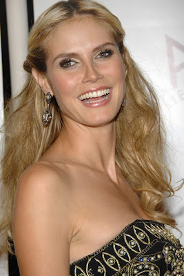 Heidi Klum Gemstone Chandelier Earrings