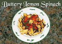 Buttery Lemon Spinach Recipe   Healthy Vegetable Recipe Buttery Lemon Spinach