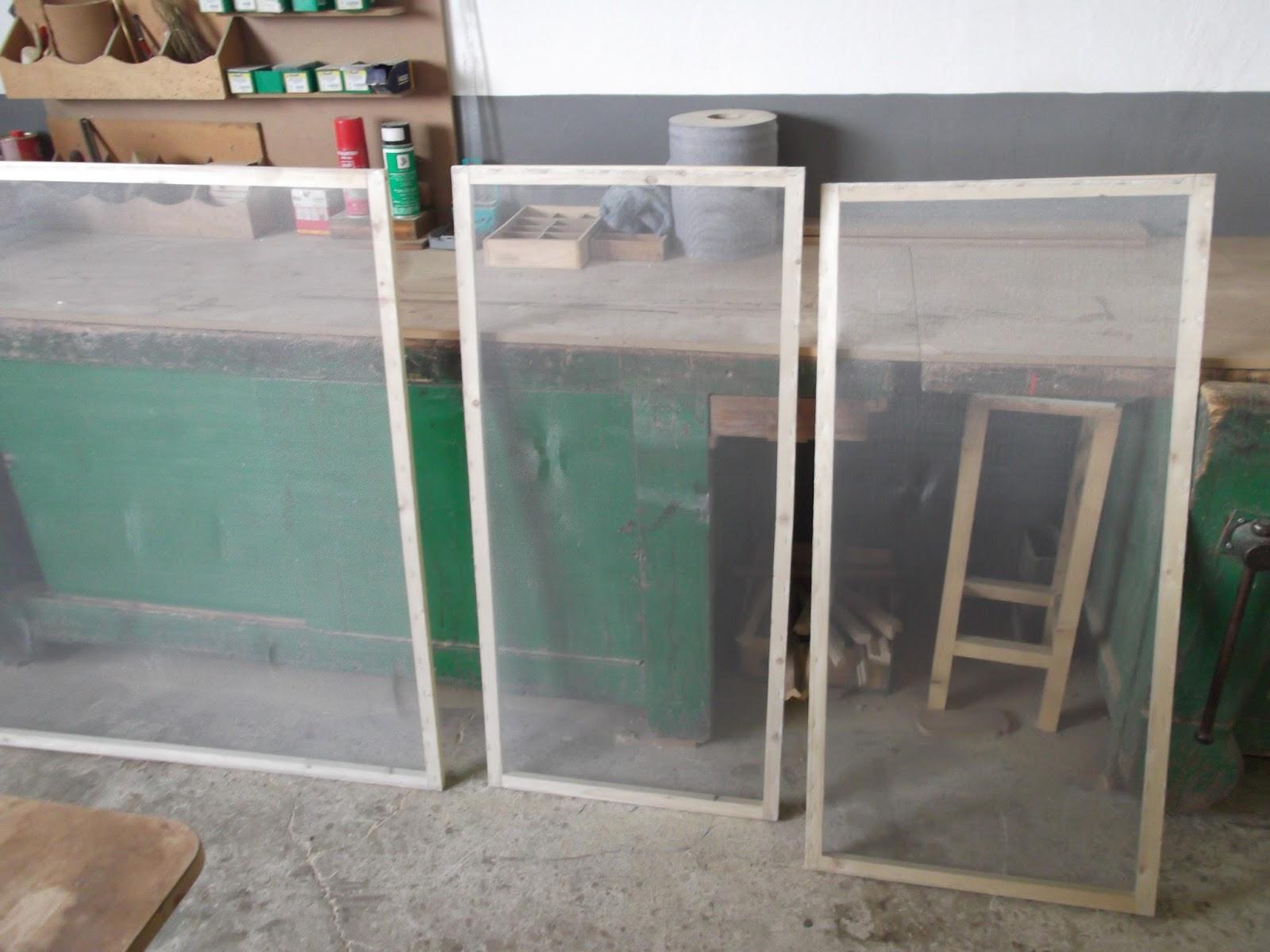El taller de bentejui mosquiteras de carril - Tela mosquitera aluminio ...