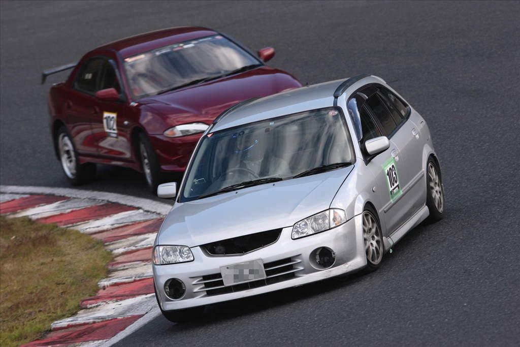 Mazda Familia BJ, JDM, tuning, wyścigi, galeria, japońskie samochody