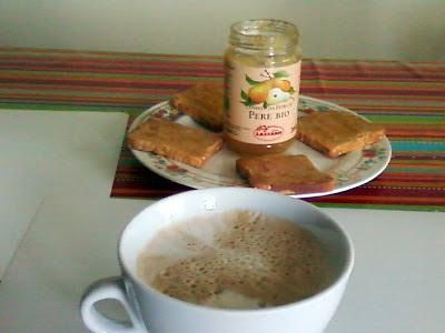 crostatine con confettura di marmellata  di pere lazzaris
