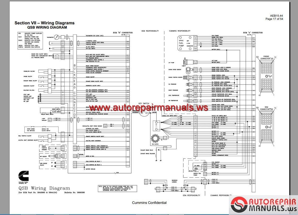 isx mins engine wiring diagram
