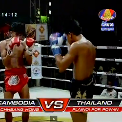 [ Bayon TV ] Chheang Hong Vs Plainoi Por Pow-in -Thai] - TV Show, Bayon TV, Bayon Boxing