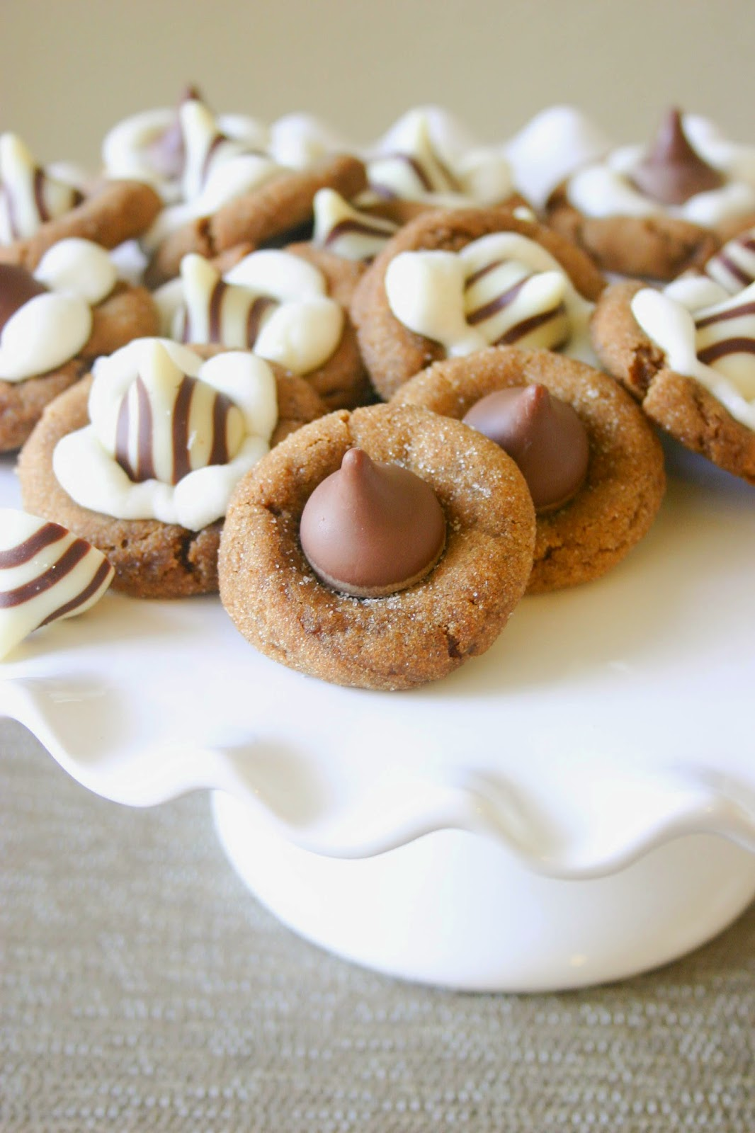 ... blossom cookies. This is just one of my many Hershey-kissed cookies
