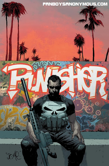The Punisher Frank Castle returns to Marvel Now in March 2014