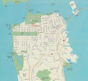 San Francisco Map. at 7:38 AM (san francisco map)