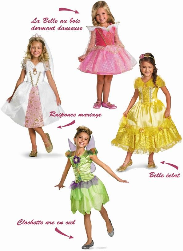 Sélection de déguisements de princesses - Chez Funidelia.fr