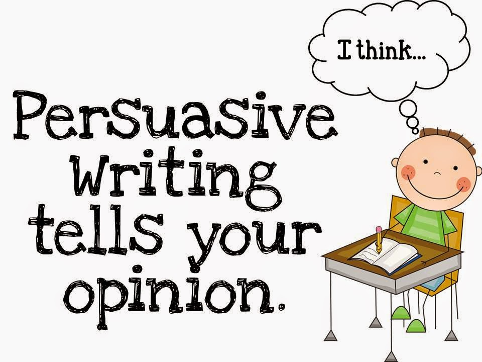 Writing persuasive essays 3rd grade