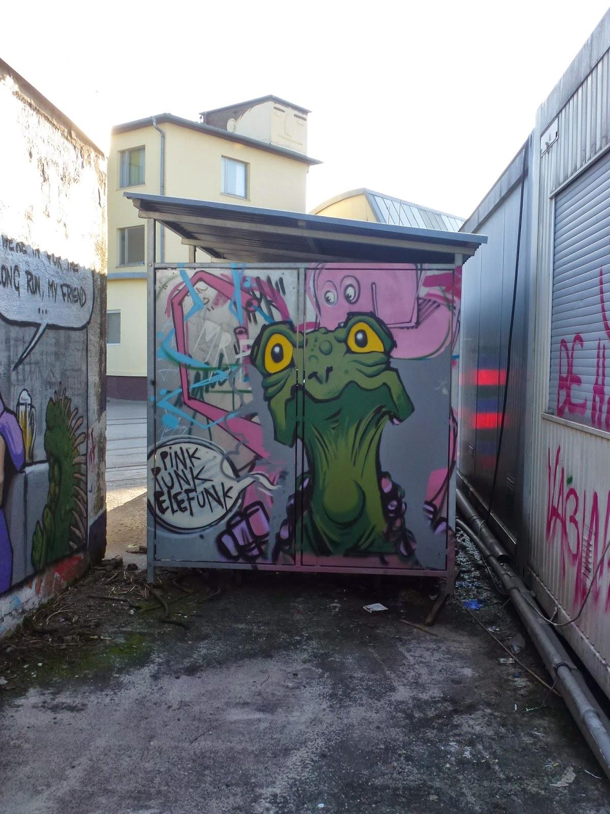 Streetart, Graffit, München