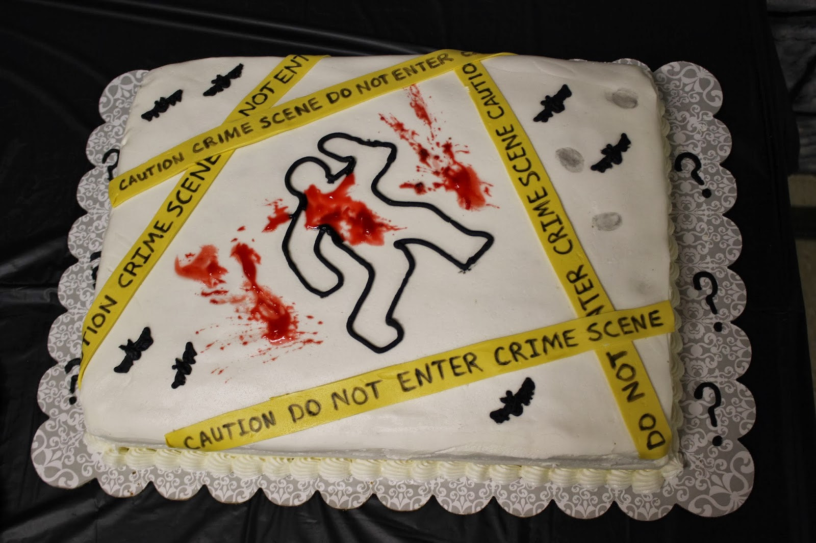 Murder Mystery Cake Pictures
