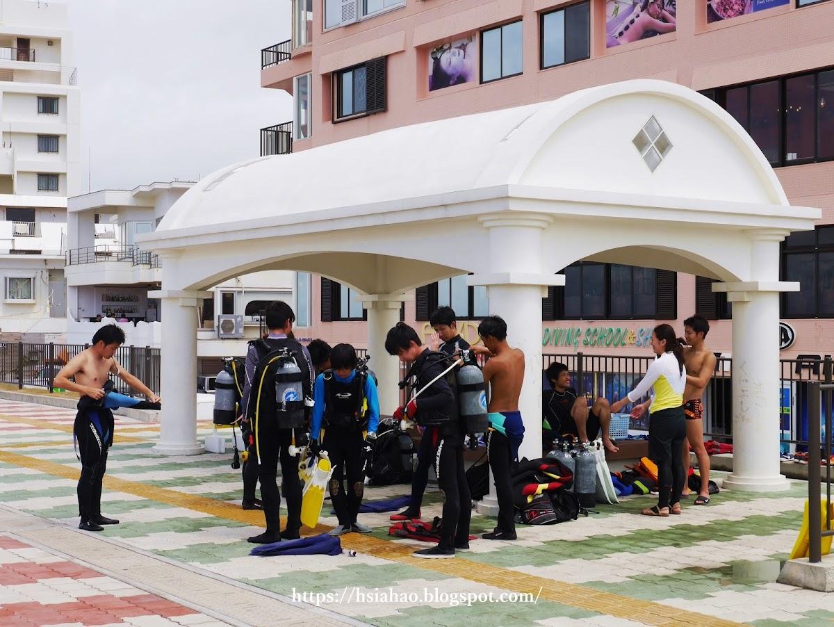 沖繩-景點-中部-宮城海岸-潛水-自由行-旅遊-Okinawa- Miyagi-Coast-diving