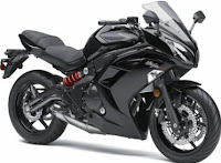 Black 2012 Ninja 650