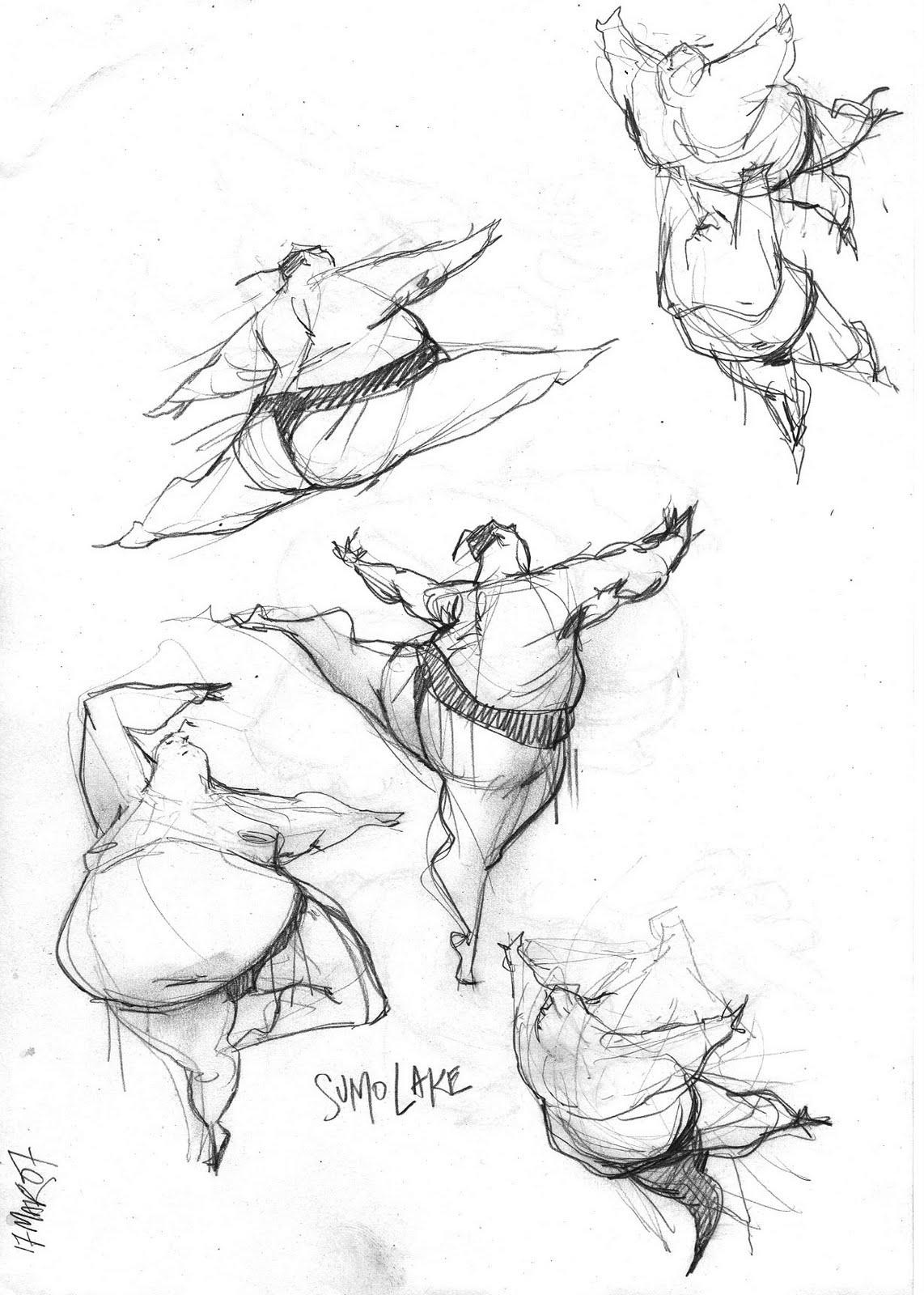 sumo sketch by hioe on DeviantArt