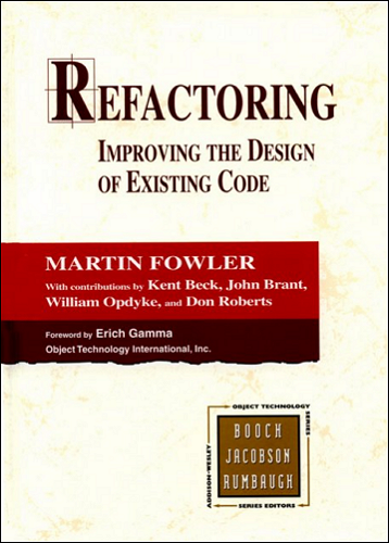 the of design refactoring: existing improving code