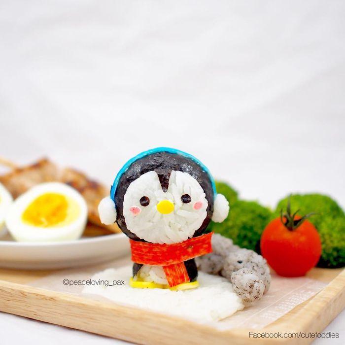 09-Baby-Penguin-Nawaporn-Pax-Piewpun-aka-Peaceloving-Pax-Food-Art-Inspiration-for-your-Bento-Box