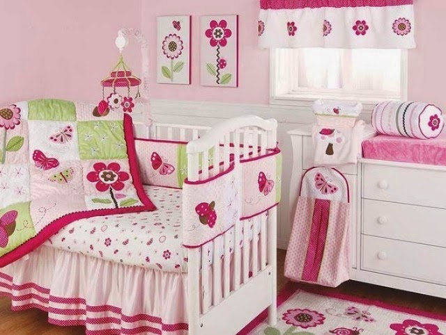 ideas for painting a baby girl's room