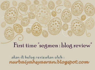 """segmen : blog review"""