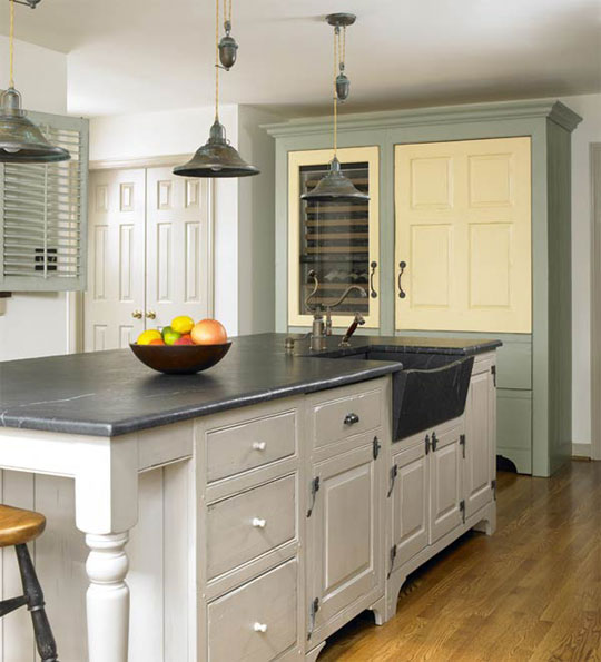 French Country Kitchen Cabinet Colors: Oh Martha Monday