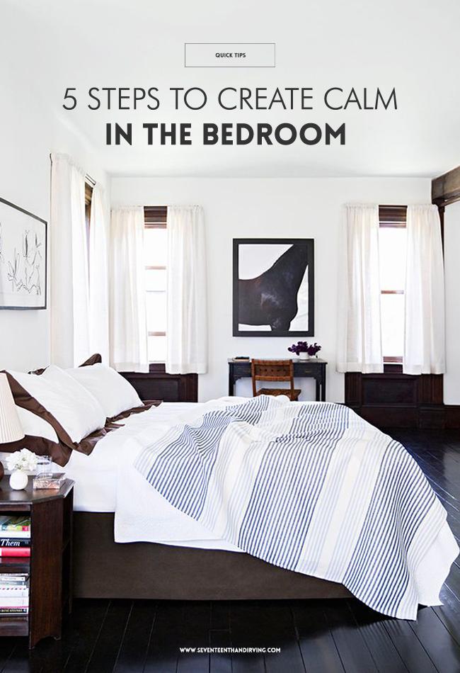 Seventeenth irving easy steps to declutter your bedroom Declutter bedroom