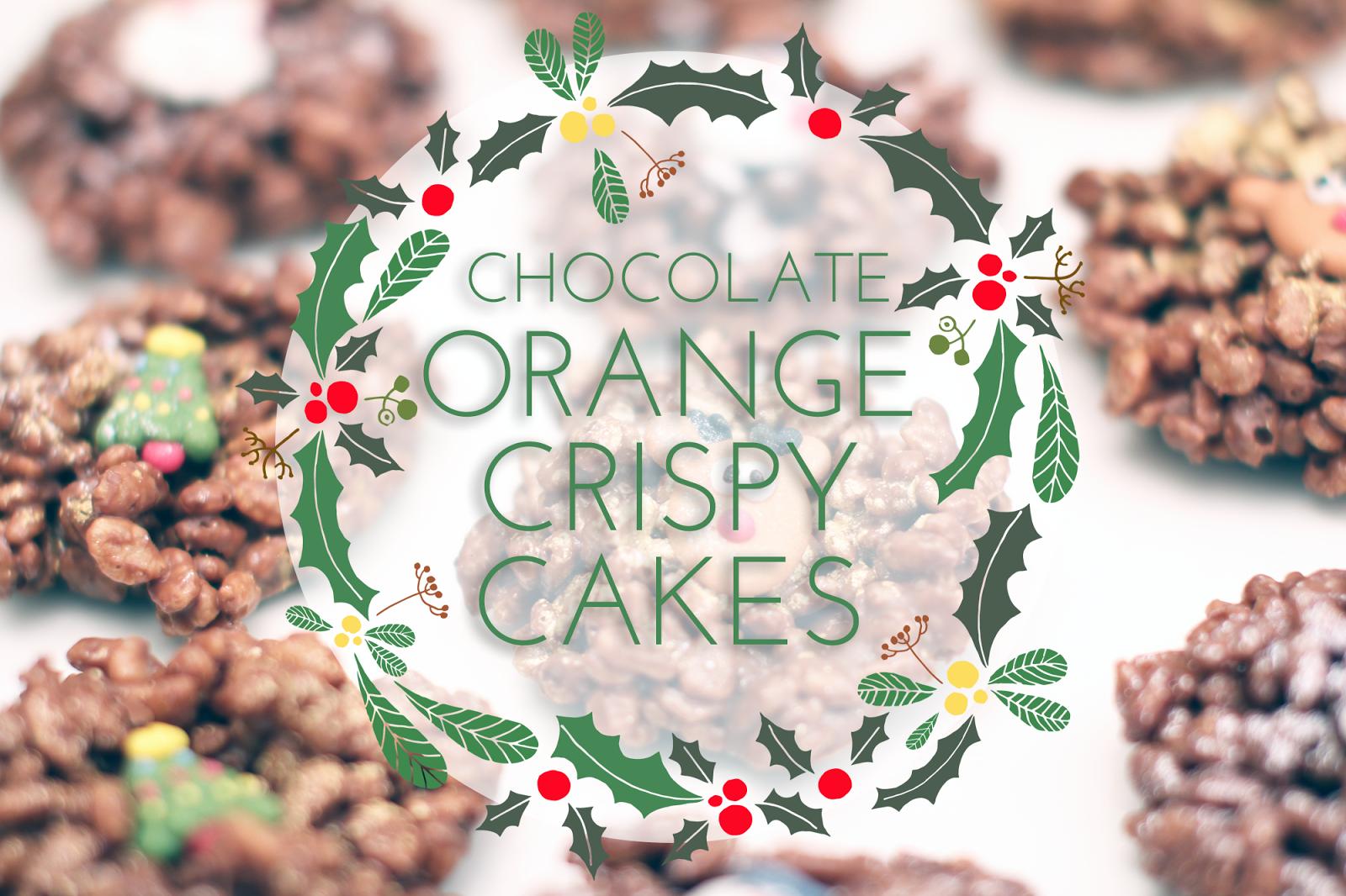 melissa-lou: Chocolate Orange Crispy Cakes