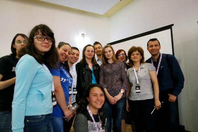 Claudia Tocila cu blogoltenii