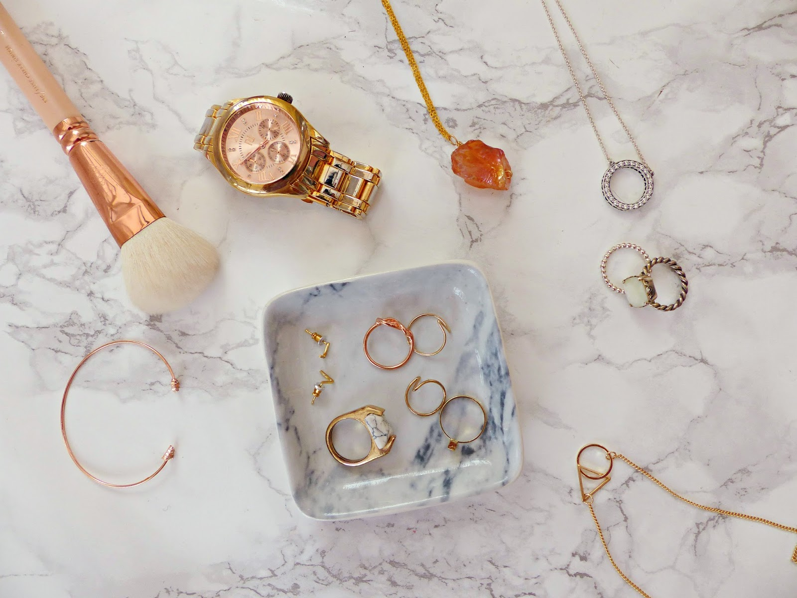 Rose Gold Marble : Rose gold marble more my everyday jewellery jasmine