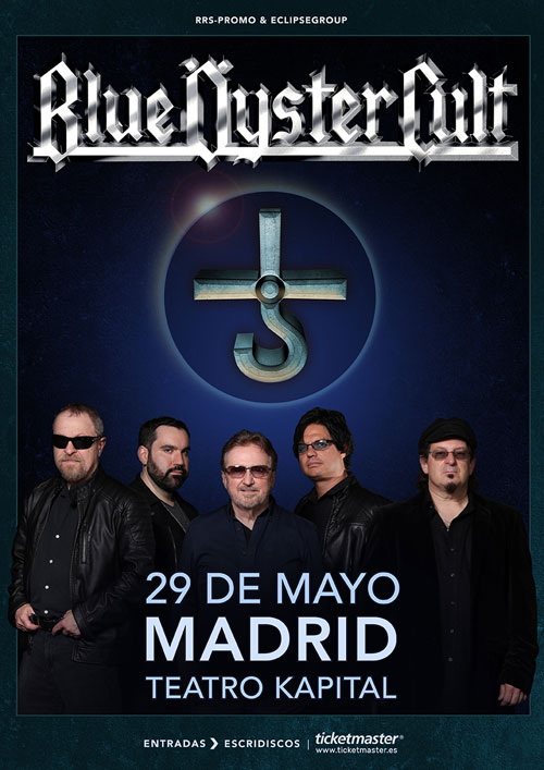 BLUE OYSTER CULT EN MADRID