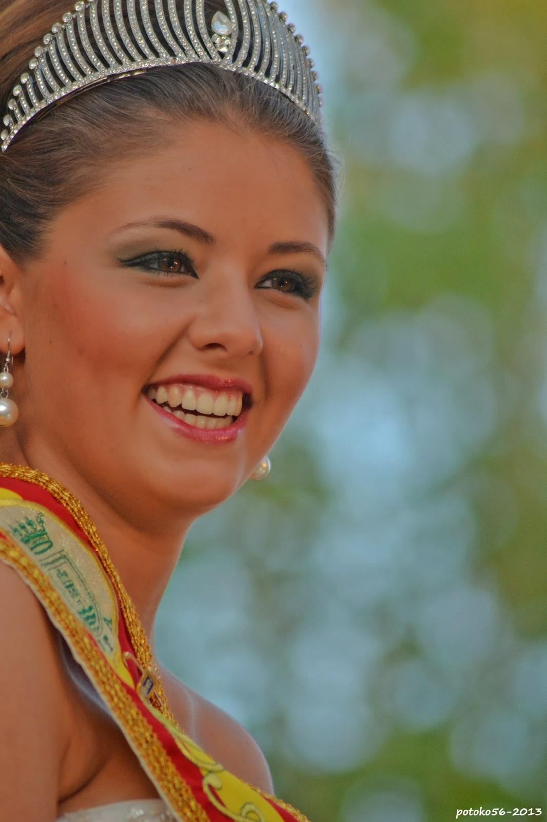 Srta. Alba Helices Collins Dama Mayor de las Fiestas del Rosario Rota