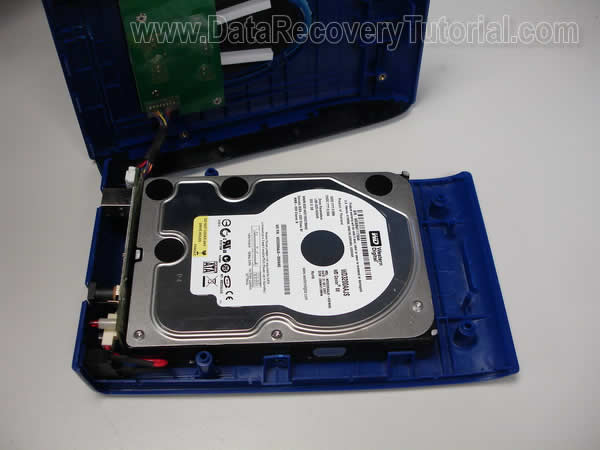 Data recovery from corrupted external hard disk