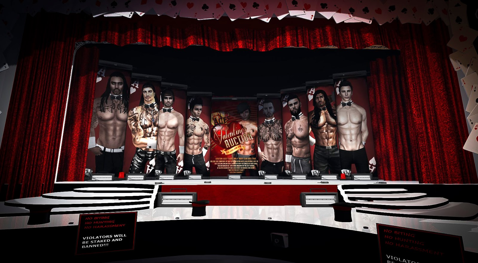 So Many Ways to Play! Spotlight on Aces Male Strip Club: - Lanai ...