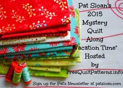 2015 Pat Sloan Mystery BOM
