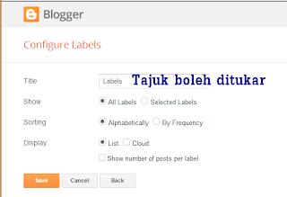 "Kepentingan ""Label"" Dalam Blogshop"